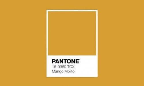 Donker geel