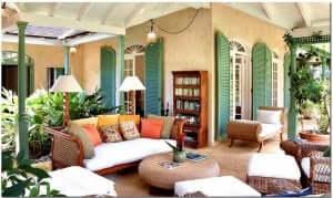 Een Caribische achtertuin