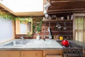 Spiegel om je keuken groter te laten lijken