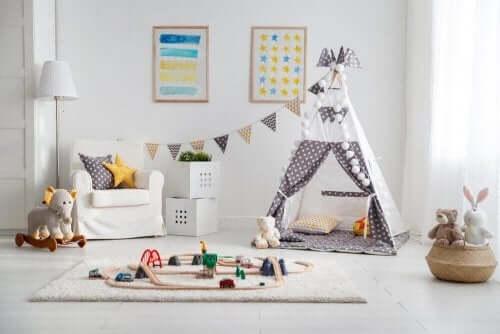 Ideeën voor een speelkamer om je kinderen bezig te houden