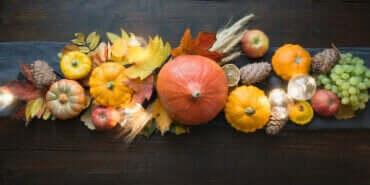 Decoreren met gedroogd fruit en groenten