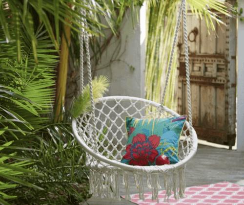De beste hangstoelen voor een chique interieur