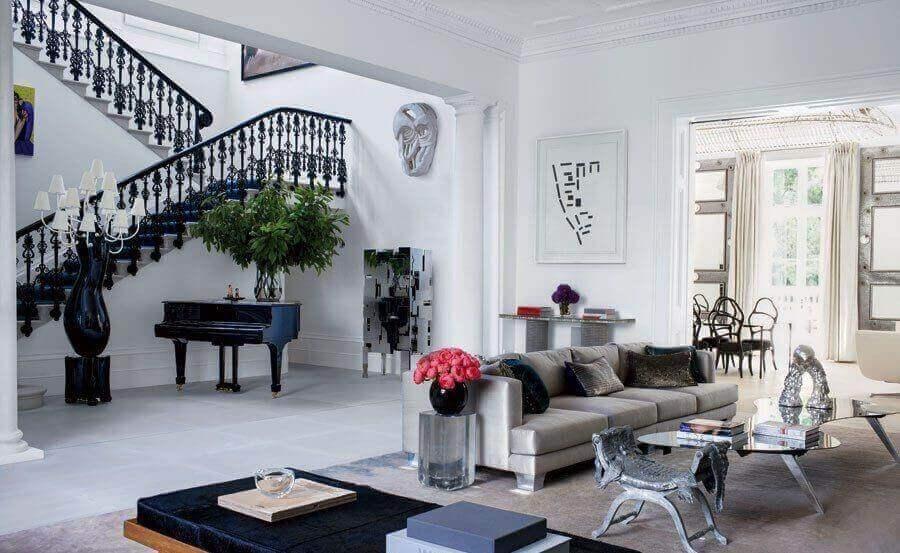 Een modern Londens interieur