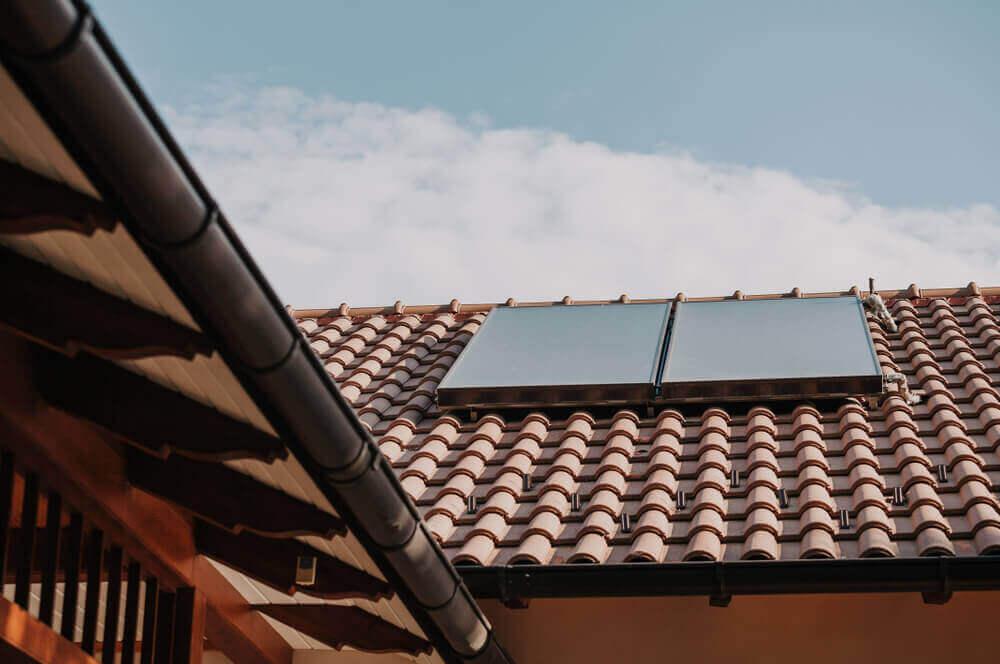 Met dakpannen je huis waterdicht maken