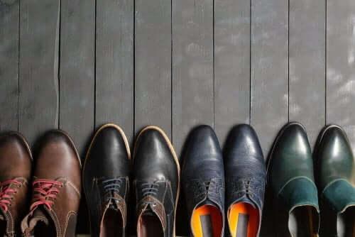 Je schoenen opbergen, terwijl je ze als nieuw houdt
