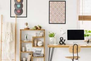 Een opgeruimd bureau