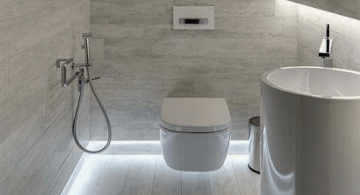 Toilet met led verlichting