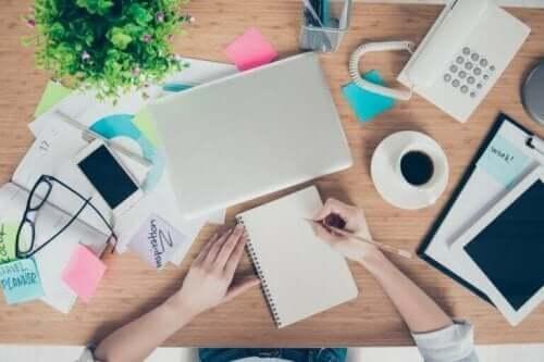 Hoe een professionele organizer werkt