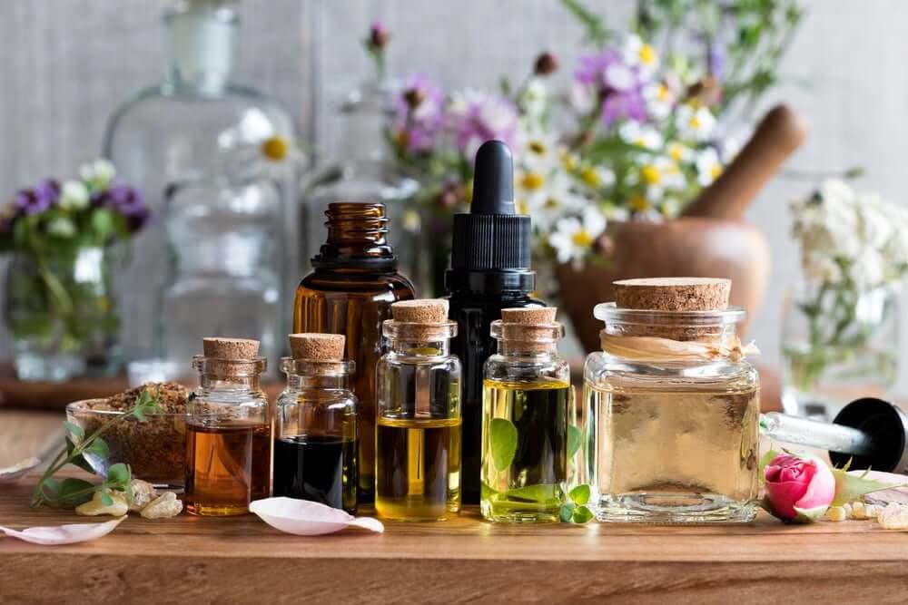Verschillende geuren voor aromatherapie