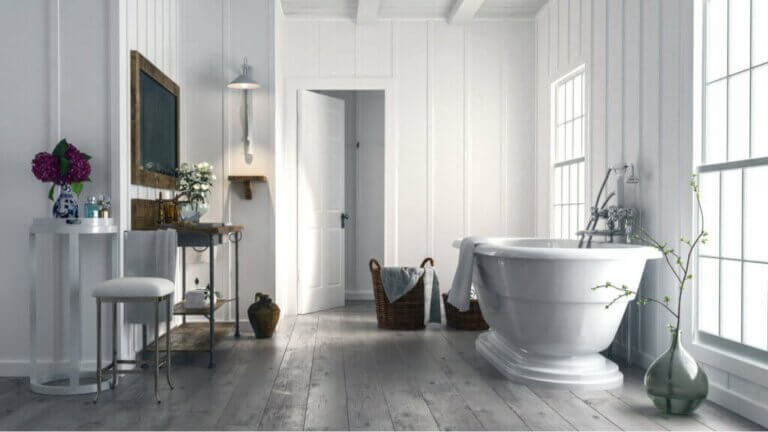 De badkamer die je moet hebben volgens de nieuwste trends