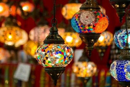 Turkse lampen of moskee lampen