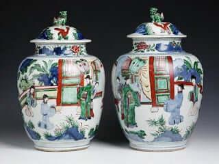Qing Ming vaas