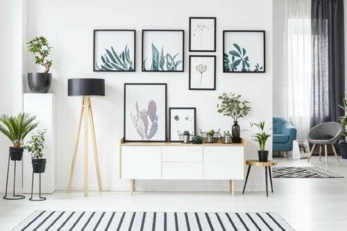 Schilderijen ophangen zonder te boren