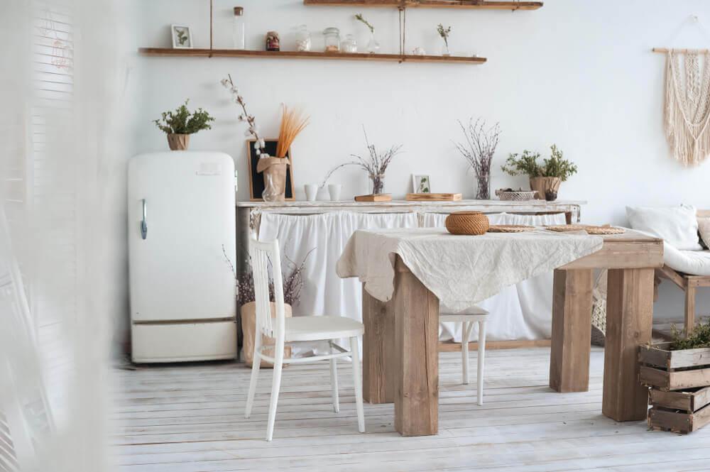 Keuken met kleine afmetingen
