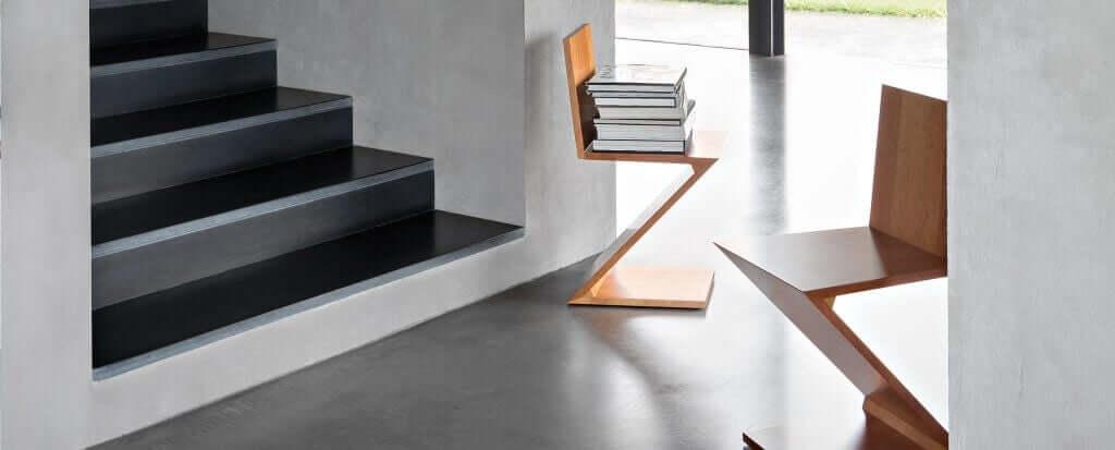 Alles over de zigzagstoel van Gerrit Rietveld