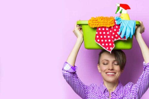 Weet je hoe vaak je de kamers in je huis moet schoonmaken?