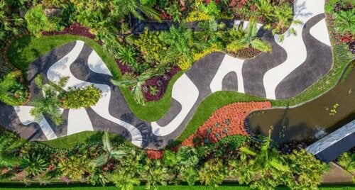 Park ontworpen door Burle Marx