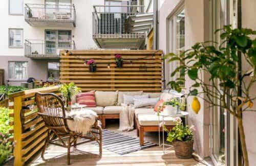 Probeer deze zomer deze 4 trendy ideeën voor je terras