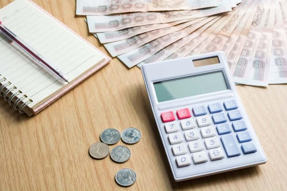 Rekenmachine en geld