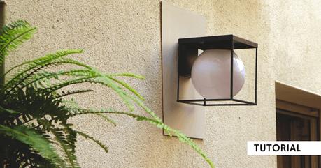 Decoratieve buitenlamp