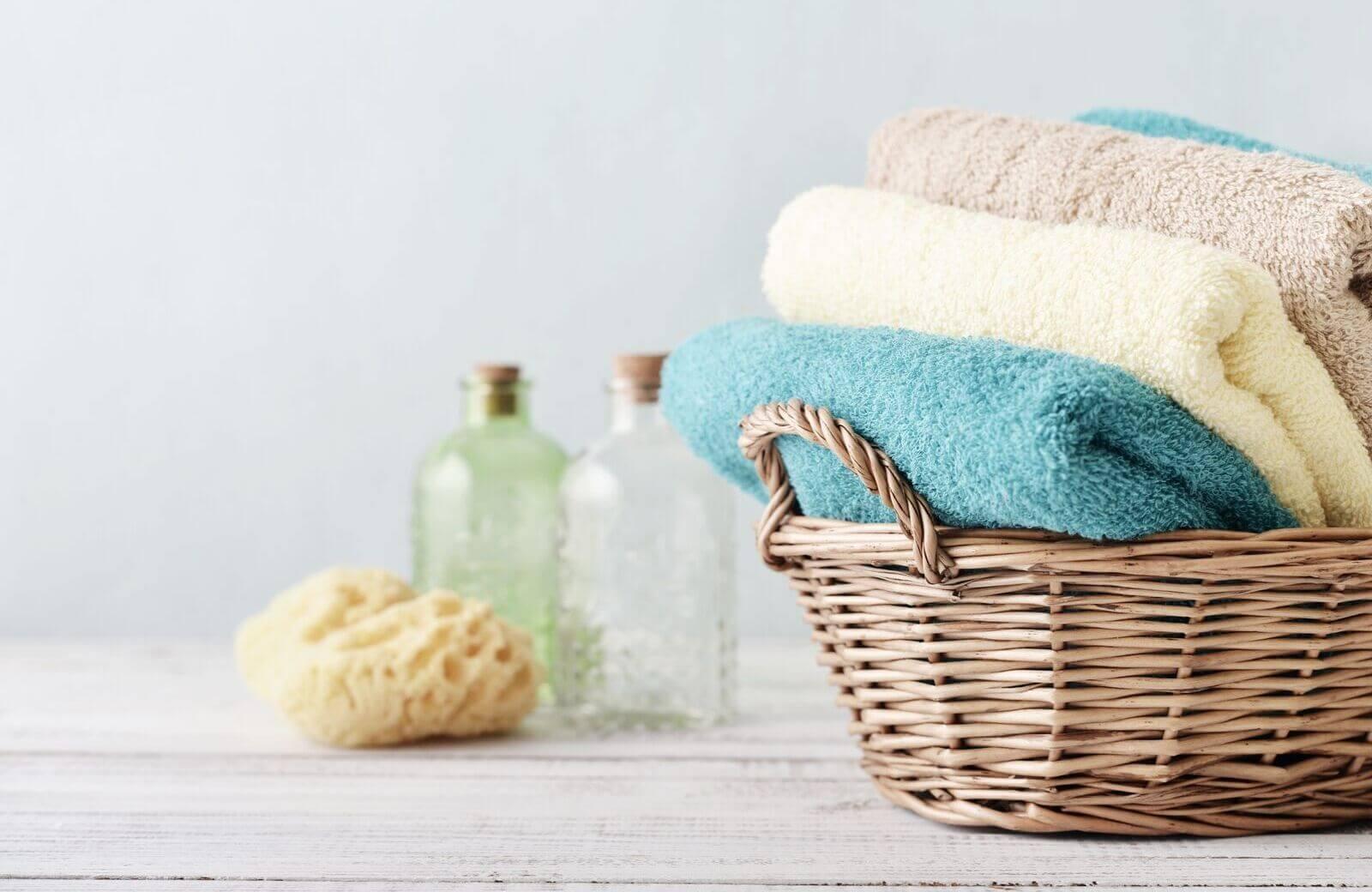 Perfecte set badhanddoeken