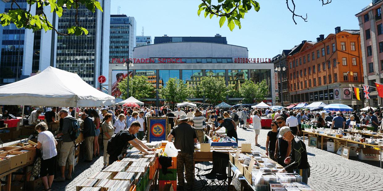 Markt in stockholm