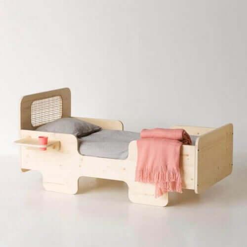 Bed van hout