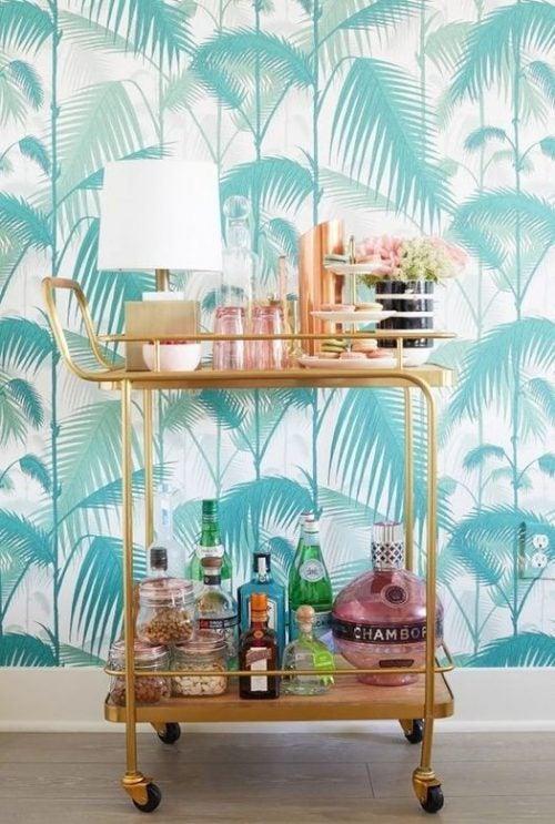 Carrinhos de bar: funcionais e decorativos