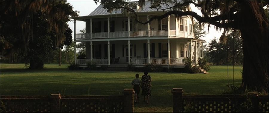 casas de campo do filme Forrest Gump