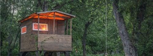 10 casinhas de madeira para crianças