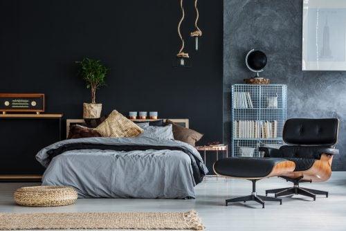 cestas de vime para aproveitar o espaço do seu quarto