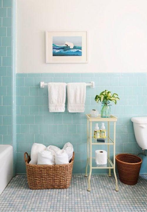 Mudar o piso e as paredes do banheiro