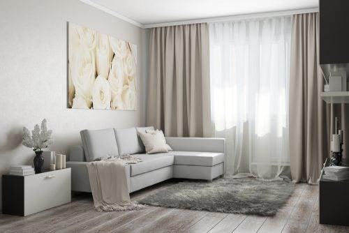 As cortinas são o segredo para a decoração iluminada e arejada