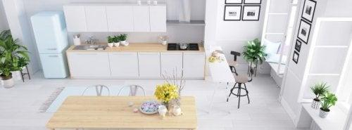 Como decorar a sua cozinha seguindo o estilo nórdico