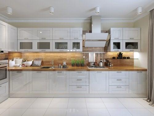 organização para maior espaço na cozinha