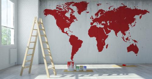 Ideias para decorar sua casa com mapas