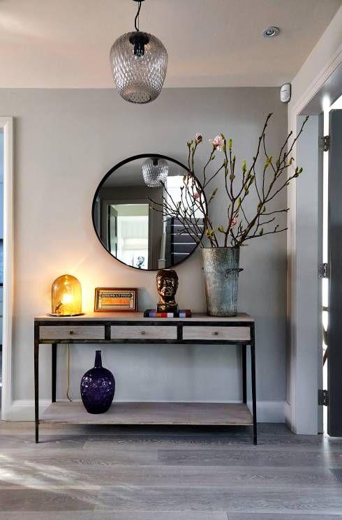 espelho na antessala-tendência natural na decoração