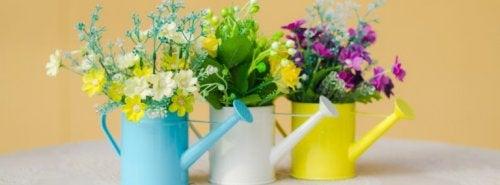 7 sugestões para uma decoração com flores: faça você mesmo