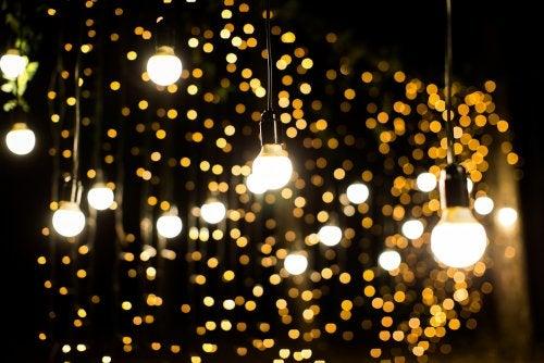 grinaldas de luzes