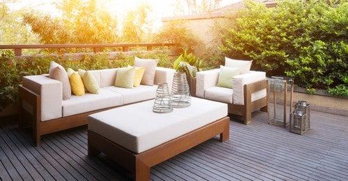 6 tendências de decoração de exteriores para 2018