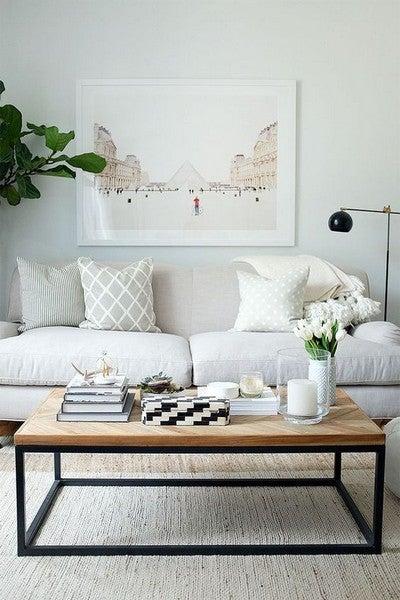 A importância das mesas de centro na sala de estar