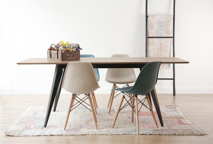 3 ideias de mesas extensíveis para pequenos espaços