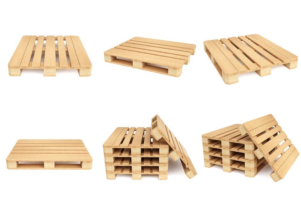 Tratamento da madeira-Cama com paletes