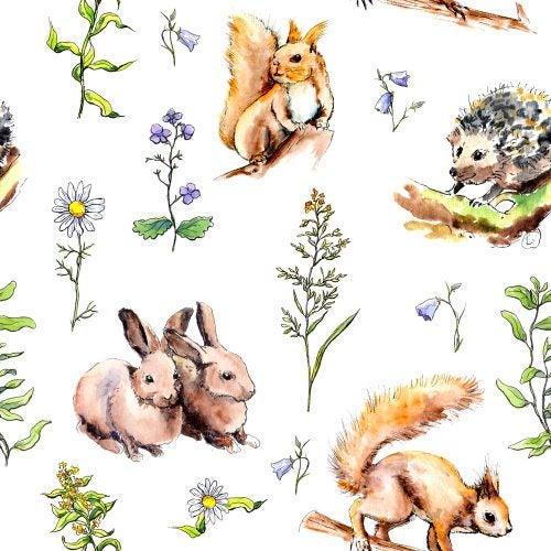 Tipos de decoração com motivos de animais