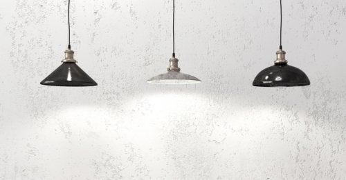 lâmpadas para iluminar espaços pequenos