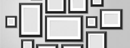 Como escolher os quadros para minha parede?