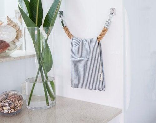 toalheiro de corda