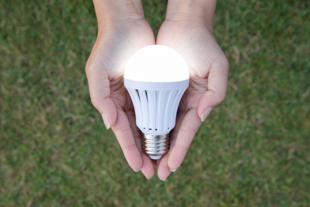 As vantagens das lâmpadas LED