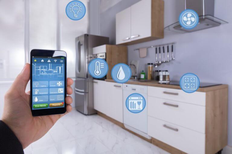 Mude a cozinha de lugar: tomadas de energia
