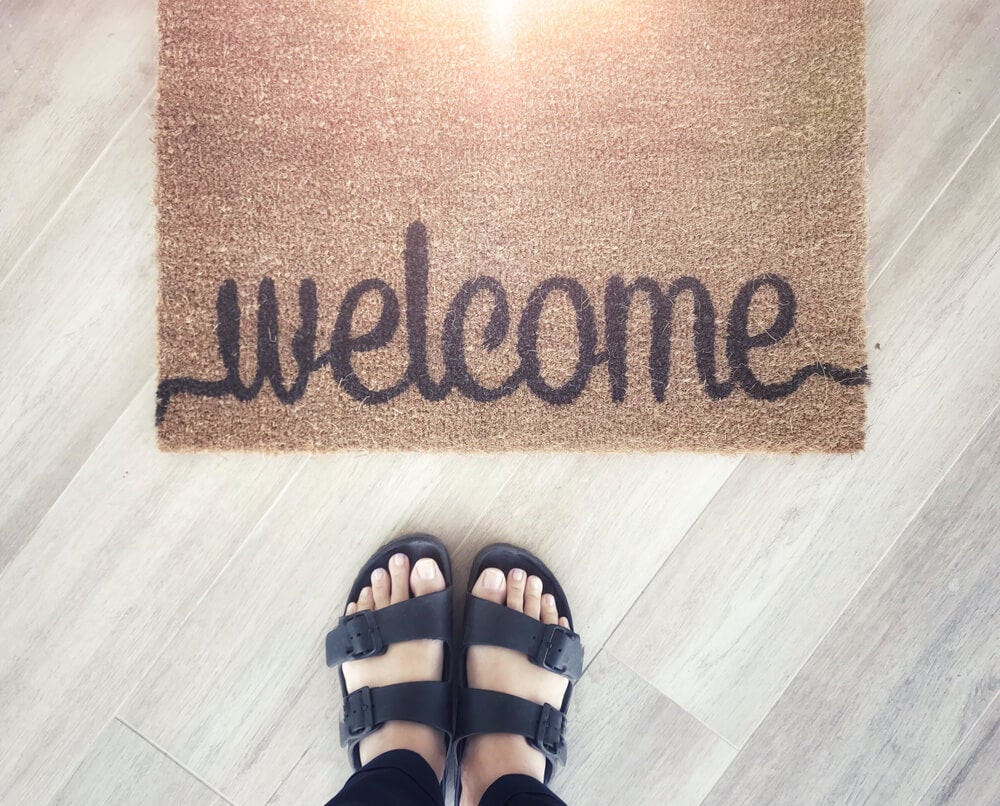 Algumas sugestões de capachos para a sua casa
